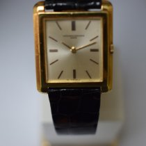 Vacheron Constantin Zuto zlato 22mm Rucno navijanje 8123 rabljen