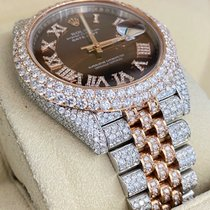Rolex Datejust II Gold/Steel 41mm Brown No numerals United States of America, New Jersey, Woodbridge