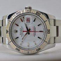 Rolex Datejust Turn-O-Graph Stahl 36mm Weiß Keine Ziffern Deutschland, Iffezheim