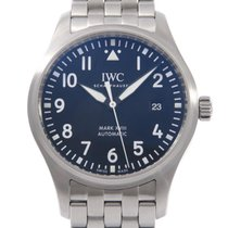 IWC Pilot Mark pre-owned 40mm Black Date