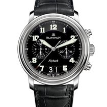 Blancpain Léman Fly-Back new 2017 Automatic Watch with original box and original papers 2885F-1130-53B