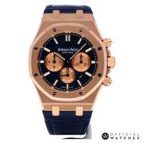 Audemars Piguet Automatic Blue new Royal Oak Chronograph