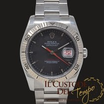 Rolex Datejust Turn-O-Graph Gold/Steel 36mm Grey No numerals