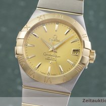 Omega Constellation Men Or/Acier 38mm Or