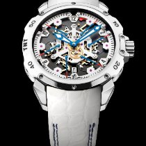 Pierre DeRoche new Automatic Display back Small seconds Luminous hands Limited Edition 43mm Titanium Sapphire crystal