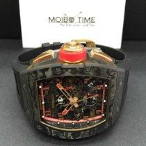 Richard Mille RM11 NTPT RED ROSE PINK GOLD Romain Grosjean Lotus
