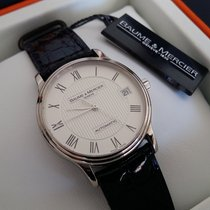 Baume & Mercier Weißgold 33mm Automatik : rare 18k white gold automatic watch (transparent backside) gebraucht Schweiz, Basel