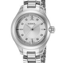 Ebel Onde Steel 30mm Silver No numerals