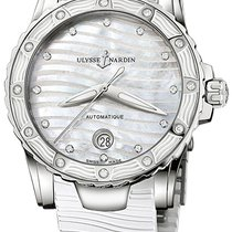 Ulysse Nardin Lady Diver Steel Mother of pearl United States of America, New York, Brooklyn