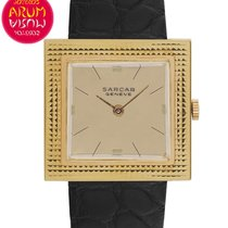 Sarcar Yellow gold 28mm Manual winding pre-owned