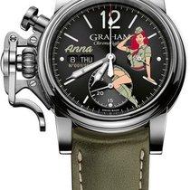 Graham Chronofighter Vintage Noseart Ltd.  (Anna)