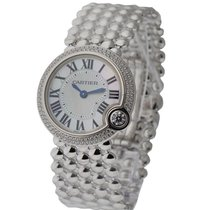Cartier WE902072 Ballon Blanc Ladies 30mm in White Gold - on...