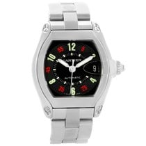 Cartier Roadster Vegas Roulette Dial Watch W62002v3 Box Papers...