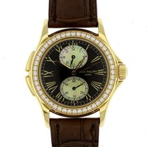 Patek Philippe Complicated Calatrava Travel Time Ladies Watch...