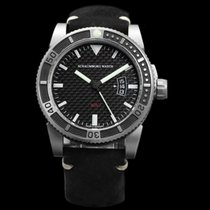 Schaumburg Steel 45mm Automatic Schaumburg Watch - AQM Carbon A-Grade new