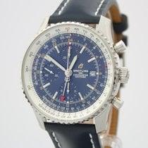 Breitling Navitimer World neu 2020 Automatik Chronograph Uhr mit Original-Box und Original-Papieren A2432212|C651|101X
