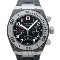 Hamilton Steel Automatic Black new Khaki Navy Sub