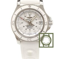 Breitling Superocean II 36 MM Automatic White Dial White...