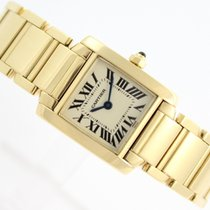 Cartier Tank Lady Francaise 18k Yellow Gold