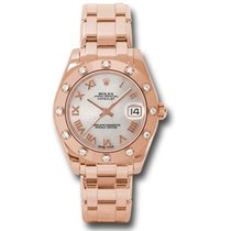 Rolex Rose gold 34mm Automatic 81315 mr new