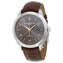 Baume & Mercier Baume and Mercier Clifton Dual Time Grey Dial...