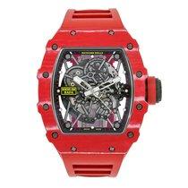 理查德•米勒 RM35 02 Rafal Nadal Red Quartz TPT Chronograph Flyback