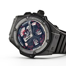 Hublot 48mm Automatic 2017 pre-owned King Power Black