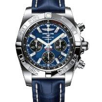 Breitling Chronomat 44 Stahl 44mm Blau Schweiz, Pfäffikon/SZ