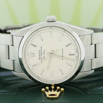 Rolex Air King Precision pre-owned 34mm Silver Steel