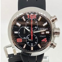 Locman Change One Steel 46mm Black Arabic numerals