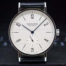 NOMOS Tangente 38 Datum Steel 37.5mm Arabic numerals United States of America, Massachusetts, Boston