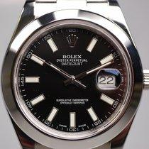 Rolex Datejust II Stahl 41mm Schwarz Keine Ziffern Deutschland, Frankfurt