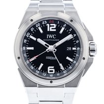 IWC Ingenieur Dual Time Stal 43mm Czarny