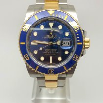 Rolex Submariner Date Gold/Steel 40mm Blue No numerals United Kingdom, Leicester