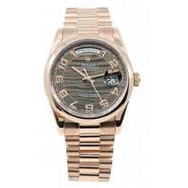 Rolex Day-Date 36 Or rose 36mm Arabes France, LYON