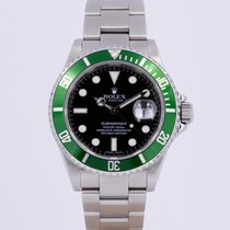 Rolex 16610LV Steel 2009 Submariner Date 40mm pre-owned