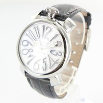 Gaga Milano Steel 40mm Quartz 5020.5