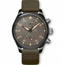 IWC Pilot Chronograph Top Gun Miramar Ceramic 44mm Grey Arabic numerals