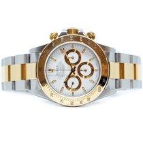 Rolex Daytona Gold/Steel 40mm White No numerals