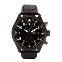 IWC Pilot Chronograph Top Gun nuevo Automático Cronógrafo Reloj con estuche y documentos originales IW389001 TOP GUN