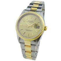 Rolex Oyster Perpetual Date Goud/Staal 34mm Goud