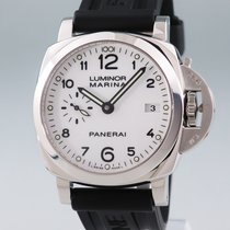 Panerai Luminor Marina 1950 3 Days Automatic folosit 42mm Alb Cauciuc