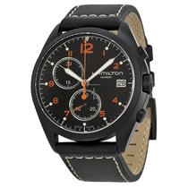 Hamilton Khaki Pilot Pioneer new Quartz Chronograph Watch with original box and original papers H76582733