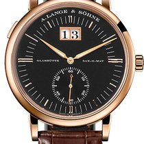 A. Lange & Söhne Grand Langematik Rose gold 40mm Black