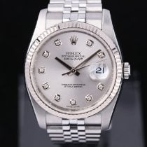 Rolex Datejust Zeljezo 36mm Srebro