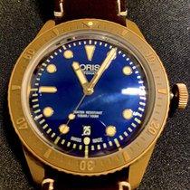 Oris 01 733 7720 3185-Set LS Bronze 2016 Carl Brashear 42mm pre-owned