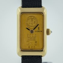 Corum pre-owned Manual winding 16.5mm Gold Mineral Glass