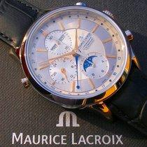 Maurice Lacroix Les Classiques Chronographe Stahl 41mm Silber Keine Ziffern Deutschland, Meißen