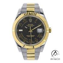 Rolex Datejust II 116333 Very good Gold/Steel 41mm Automatic