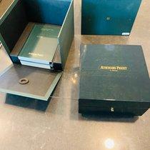 Audemars Piguet Royal Oak Chronograph Aço 41mm Preto Sem números